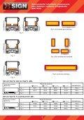 Panel posterior reflectante y fluorescente para camión ... - FM Electro - Page 4