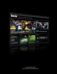 Geschäftsbericht 2008 bwin Interactive Entertainment AG