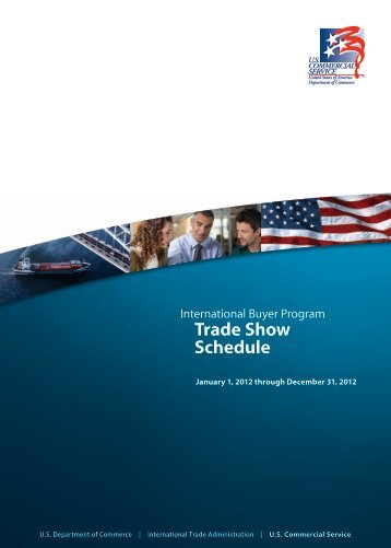 2012 Trade Show Schedule - Export.gov