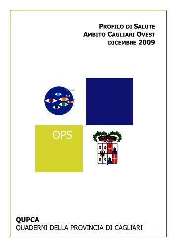 Profilo d'ambito Area Ovest dicembre 2009 - Sociale - Provincia di ...
