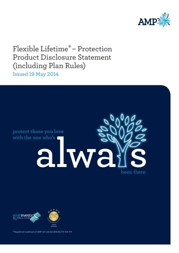 AMP Life PDS - Income Protection Insurance