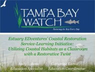 Coastal Restoration Service-Learning Initiative - Restore America's ...