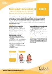 Kommunikativ matematik 4-6 H.pdf - Lärarfortbildning