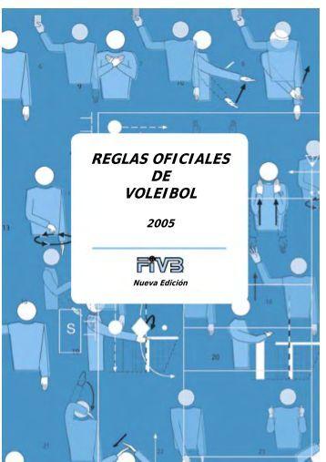 Reglas oficiales Voleibol - ARVA
