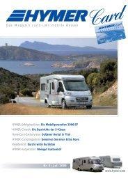 Nr. 3 | Juli 2006 Das Magazin rund ums mobile Reisen www.hymer ...