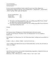 Statistik 4_mit Lösungen - Zml.uni-flensburg.de - Universität Flensburg