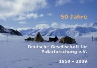 Arbeitskreis - Deutsche Gesellschaft für Polarforschung (DGP)