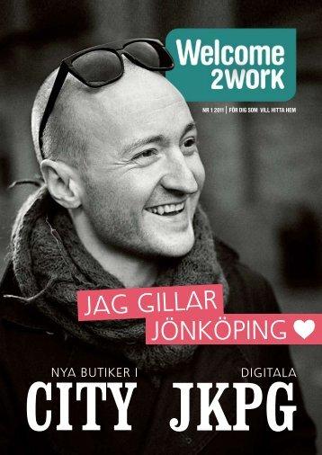 NR 1 2011 föR dig som vill HiTTA HEm - Destination Jönköping