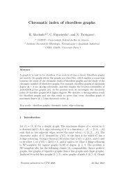 Chromatic index of chordless graphs - ZAIK