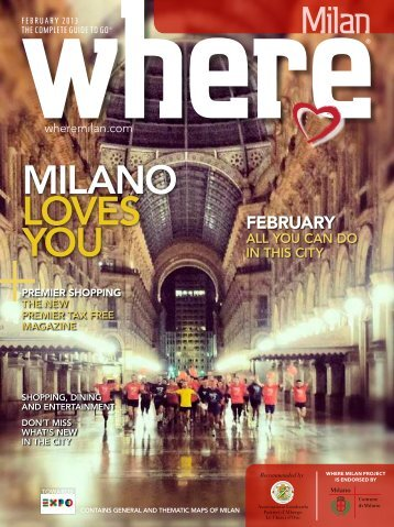 miLano LoVES yoU - Where Milan