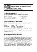 Pfarrbrief - Katholische Pfarrgemeinde Sanctissima Eucharistia - Seite 7