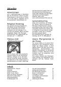 Pfarrbrief Katholische Gemeinde Ss. Eucharistia Kleinmachnow - Seite 3