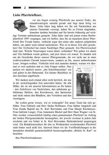 24 Chorgemeinschaft St. Karl Borromäus
