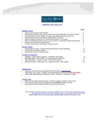 February 2004 e-Bulletin (.pdf) - Pacific Rim Advisory Council (PRAC)