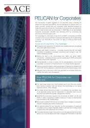 PELICAN for Corporates - ACE Software Solutions