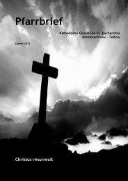 Liebe Brüder und Schwestern im Herrn - Katholische Pfarrgemeinde ...