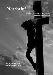 Pfarrbrief Ostern 2012 - Katholische Pfarrgemeinde Sanctissima ...