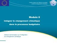 Module 8 - Global Climate Change Alliance