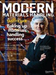 Modern Materials Handling - January 2011