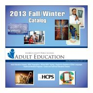 2013 Fall/Winter - Henrico County Public Schools