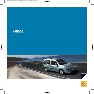 Broschyr Kangoo II Kombi - Upplands Motor