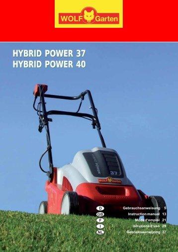 hybrid power 37 hybrid power 40 hybrid power 37 hybrid power 40