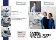 a caring company formed from a legacy - Business Review USA