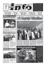 Hetilap PDF-ban - Kárpátinfo.net