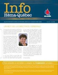 Août 2003 - Héma-Québec