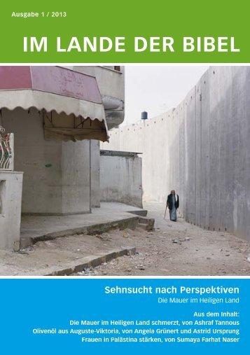 pdf ILB_01_2013 - Jerusalemsverein