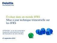 27 septembre 2012 - Deloitte