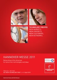 HANNOVER MESSE 2011