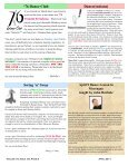 15 04 April 2011 Newsletter - Ballroom Dance Dayton - Page 2