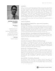 STEPHEN MAINZER PLANNER - Renaissance Planning Group