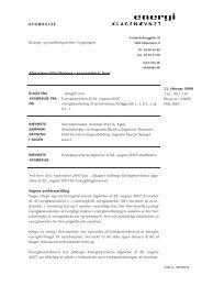 Energimærkning af ejendommen beliggende - Energiklagenævnet