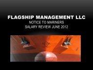 Flagship Management LLC Salary Review June 2012