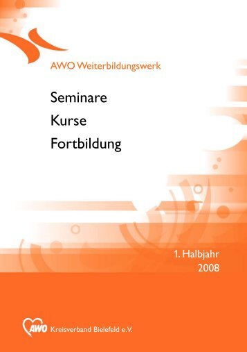 Seminare Kurse Fortbildung - AWO Kreisverband Bielefeld ev