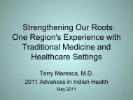 Handout - Indian Health Service
