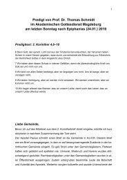 Prof. Dr.-Ing. Thomas Schmidt - ESG Magdeburg