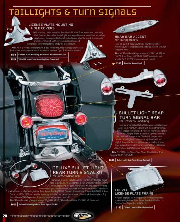 Taillights & Turn Signals - Rute66