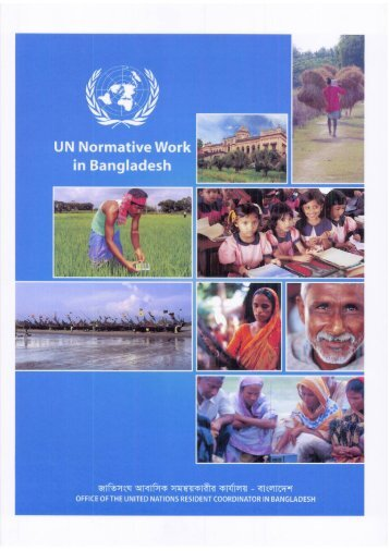 UN Normative Work in Bangladesh - United Nations in Bangladesh