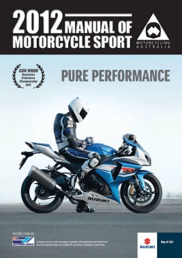 Member Protection Policy - Motorcycling Australia