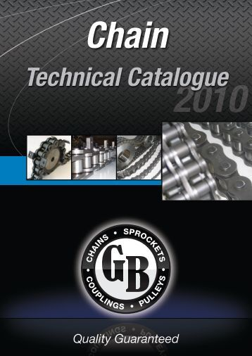 Technical Catalogue - Chain and Drives Australia