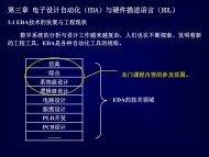 电子设计自动化(EDA)与硬件语言描述(HDL)
