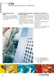 Services CIM Inbetriebnahme Inspektion und Wartung - Socomec