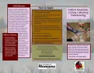 Native American Living Learning Community - Vice President for ...