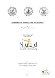 Die Trad Thai Massage A4 - Bernaqua