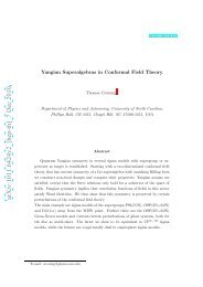 Yangian Superalgebras in Conformal Field Theory