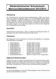 Zum Download - Niedersächsische Schachjugend