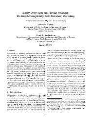 Reduced-Complexity Soft Iterative Decoding - Probabilistic and ...